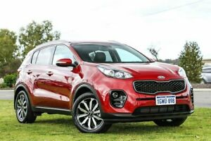 2016 Kia Sportage QL MY16 SLi 2WD Red 6 Speed Sports Automatic Wagon