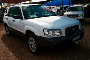 2002 Subaru Forester 2.5 X AUTOMATIC White Automatic SUV Minchinbury Blacktown Area Preview