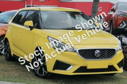 2019 MG MG3 SZP1 MY18 Excite Yellow 4 Speed Automatic Hatchback Gateshead Lake Macquarie Area Preview