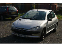 Peugeot 206 1.4 (Cheap car for everyday use)