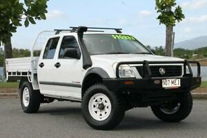 2003 Holden Rodeo RA LX White 5 Speed Manual Cab Chassis Bungalow Cairns City Preview