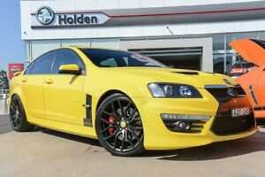 2012 Holden Special Vehicles GTS E Series 3 MY12 Hazard Yellow 6 Speed Manual Sedan