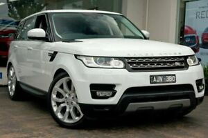2016 Land Rover Range Rover Sport L494 16.5MY SDV6 CommandShift SE White 8 Speed Sports Automatic Doncaster Manningham Area Preview