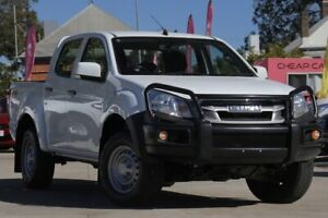 2016 Isuzu D-MAX MY15.5 SX Crew Cab White 5 Speed Sports Automatic Cab Chassis East Toowoomba Toowoomba City Preview