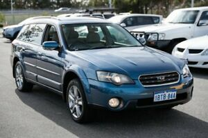 2004 Subaru Outback B4A MY04 R AWD Blue 5 Speed Sports Automatic Wagon Canning Vale Canning Area Preview