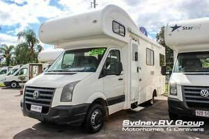 U3435 VW Crafter Talvor 6 Berth Family RV With Spacious Living Penrith Penrith Area Preview