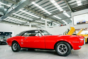 1968 Pontiac Firebird 455 Red 3 Speed Manual Coupe Port Melbourne Port Phillip Preview