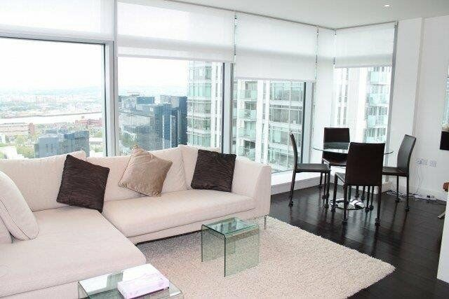 # Stunning two bath apartment arranged over 793 sq ft on the 29th floor of Pan Peninsula!!