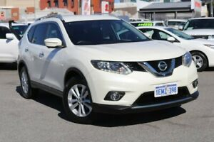2014 Nissan X-Trail T31 Series 5 ST-L (4x4) White 6 Speed CVT Auto Sequential Wagon