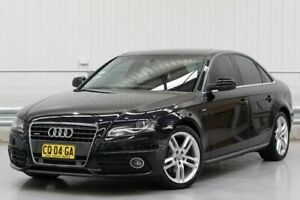2011 Audi A4 B8 (No Badge) Black Sports Automatic Dual Clutch Parramatta Parramatta Area Preview