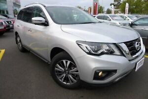 2018 Nissan Pathfinder R52 Series II MY17 ST-L X-tronic 2WD Silver 1 Speed Constant Variable Wagon Hoppers Crossing Wyndham Area Preview