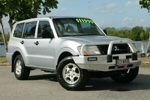 2003 Mitsubishi Pajero NP MY04 GLX Silver 5 Speed Manual Wagon Bungalow Cairns City Preview