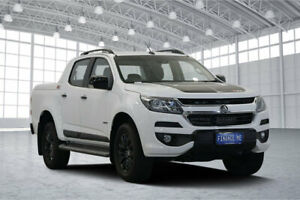 2018 Holden Colorado RG MY19 Z71 Pickup Crew Cab White 6 Speed Manual Utility Victoria Park Victoria Park Area Preview
