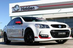 2017 Holden Commodore VF II MY17 Motorsport Edition White 6 Speed Manual Sedan Liverpool Liverpool Area Preview