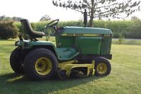 john deere 430 diesel with blower