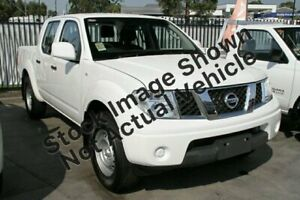 2012 Nissan Navara D40 S6 MY12 RX 4x2 White 6 Speed Manual Utility Lidcombe Auburn Area Preview