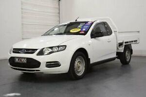 2012 Ford Falcon FG MK2 XR6 White 6 Speed Auto Seq Sportshift Utility