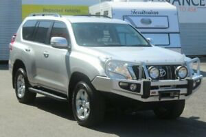 2014 Toyota Landcruiser Prado GRJ150R MY14 GXL Silver 5 Speed Sports Automatic Wagon Portsmith Cairns City Preview