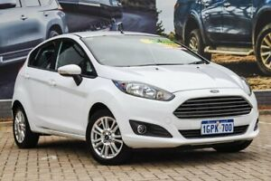 2014 Ford Fiesta WZ MY15 Trend White 5 Speed Manual Hatchback Morley Bayswater Area Preview