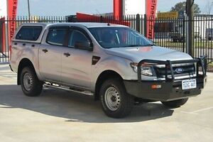 2013 Ford Ranger PX XL Double Cab Silver 6 Speed Manual Utility Kenwick Gosnells Area Preview