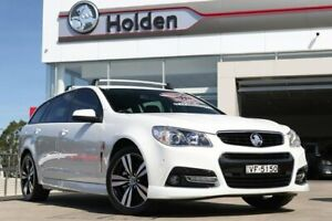 2015 Holden Commodore VF MY15 SV6 Sportwagon Storm White 6 Speed Sports Automatic Wagon Liverpool Liverpool Area Preview