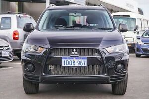 2010 Mitsubishi Outlander ZH MY11 LS (FWD) Blue 5 Speed Manual Wagon Glendalough Stirling Area Preview