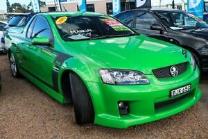 2009 Holden Commodore VE SSV Green Manual Utility Minchinbury Blacktown Area Preview