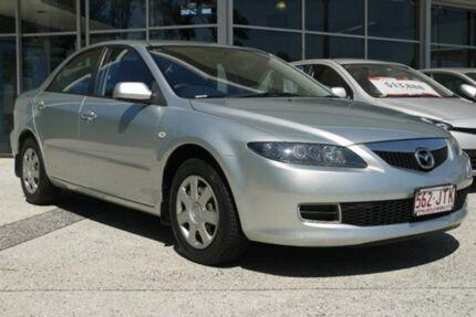 2006 Mazda 6 GG1032 Classic Silver 5 Speed Auto Seq Sportshift Sedan Currimundi Caloundra Area Preview