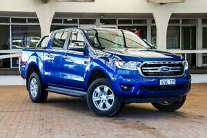 2018 Ford Ranger PX MkIII 2019.00MY XLT Pick-up Double Cab Blue 10 Speed Sports Automatic Utility Melville Melville Area Preview