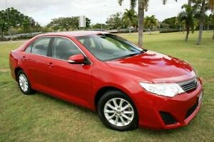 2012 Toyota Camry ASV50R Altise Red 6 Speed Sports Automatic Sedan Townsville Townsville City Preview
