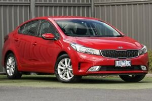 2016 Kia Cerato YD MY17 S Premium Red 6 Speed Sports Automatic Sedan Wantirna South Knox Area Preview