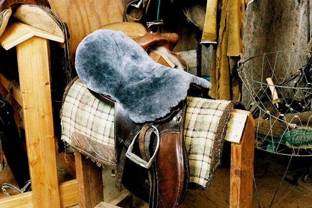 All Purpose/Dressage/English Sheepskin Saddle Covers - Charcoal