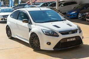 2010 Ford Focus LV RS White 6 Speed Manual Hatchback Greenacre Bankstown Area Preview