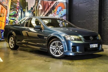 2009 Holden Ute VE MY09.5 SV6 Green 5 Speed Sports Automatic Utility