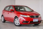 2013 Kia Cerato TD MY13 S Red 6 Speed Sports Automatic Hatchback Bellevue Swan Area Preview