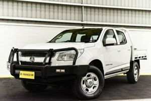 2015 Holden Colorado RG MY15 LS Crew Cab White 6 Speed Sports Automatic Cab Chassis Canning Vale Canning Area Preview