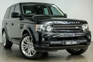 2012 Land Rover Range Rover Sport L320 12MY SDV6 Black 6 Speed Sports Automatic Wagon South Melbourne Port Phillip Preview