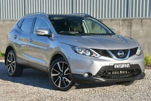 2014 Nissan Qashqai J11 TI Silver 1 Speed Constant Variable Wagon Wyong Wyong Area Preview