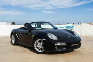 2005 Porsche Boxster 987 MY06 Black 5 Speed Sports Automatic Convertible Osborne Park Stirling Area Preview
