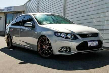2012 Ford Falcon FG MkII XR6 Turbo Limited Edition Silver 6 Speed Manual Sedan Osborne Park Stirling Area Preview