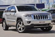 2012 Jeep Grand Cherokee WK MY2012 Overland Silver 5 Speed Sports Automatic Wagon Burpengary Caboolture Area Preview