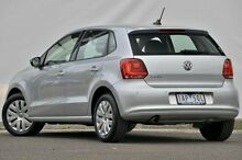 2013 Volkswagen Polo 6R MY14 Trendline Silver 5 Speed Manual Hatchback Ferntree Gully Knox Area Preview