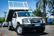2011 Holden Colorado RC MY11 DX White 5 Speed Manual Cab Chassis Archerfield Brisbane South West Preview