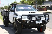 2012 Toyota Hilux KUN26R MY12 Workmate White 5 Speed Manual Cab Chassis Altona North Hobsons Bay Area Preview