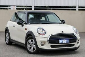 2017 Mini Hatch F56 Cooper White Automatic Hatchback Cannington Canning Area Preview