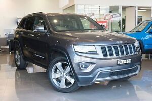 2015 Jeep Grand Cherokee WK MY15 Limited Granite Crystal 8 Speed Sports Automatic Wagon Greenacre Bankstown Area Preview