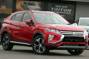 2018 Mitsubishi Eclipse Cross YA MY18 LS 2WD Red 8 Speed Constant Variable Wagon Nunawading Whitehorse Area Preview