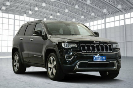 2015 Jeep Grand Cherokee WK MY15 Limited Black 8 Speed Sports Automatic Wagon Victoria Park Victoria Park Area Preview