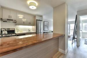 1 month FREE! Renovated, Plateau, Lafontaine Park
