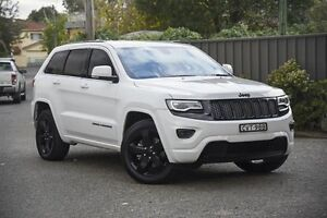 2014 Jeep Grand Cherokee WK MY2014 Blackhawk White 8 Speed Sports Automatic Wagon Greenacre Bankstown Area Preview